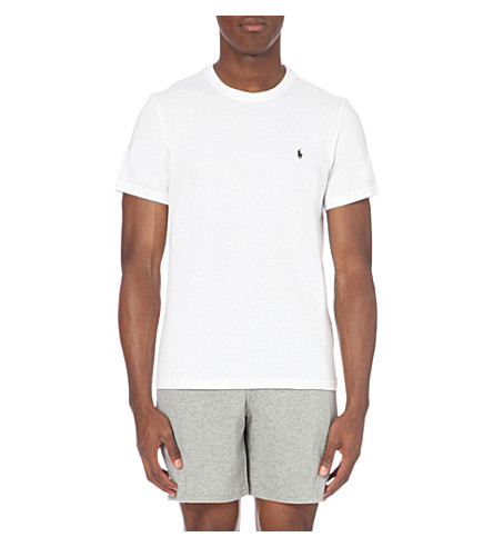 POLO RALPH LAUREN Crewneck cotton t-shirt (White