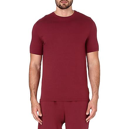 DEREK ROSE Basel jersey t-shirt (Burgundy