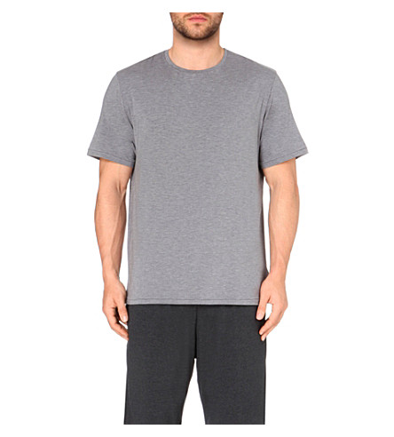 DEREK ROSE Ethan crewneck t-shirt (Grey