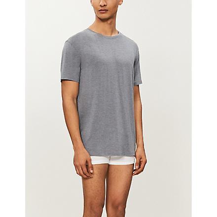 DEREK ROSE Basel t-shirt (Charcoal