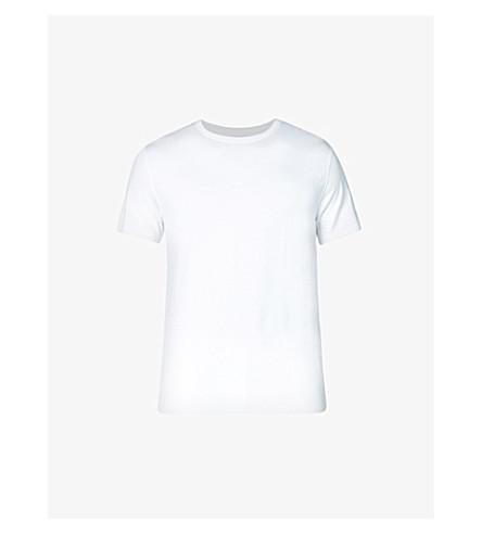 DEREK ROSE Basel stretch-jersey t-shirt (White