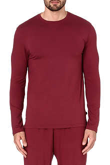 DEREK ROSE Basel long-sleeved t-shirt