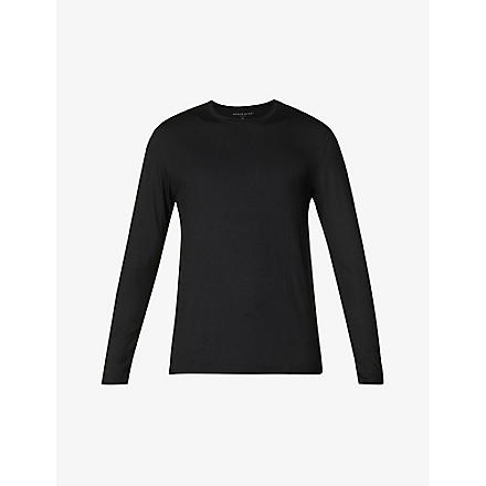 NATURALLY Basel long-sleeved t-shirt (Black