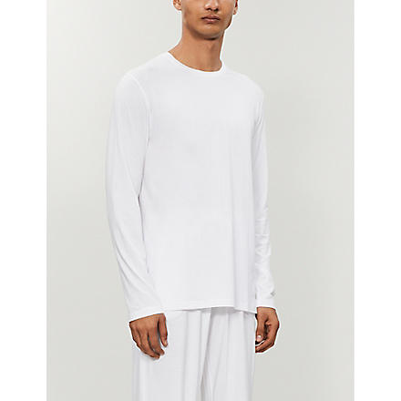 NATURALLY Basel long-sleeved t-shirt (White