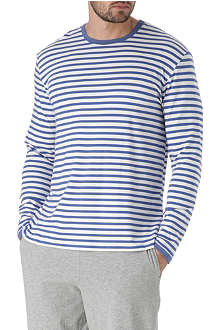 NATURALLY Dylan striped jersey long-sleeved t-shirt