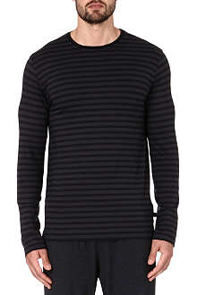DEREK ROSE Dylan striped top