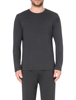 DEREK ROSE Marlowe long-sleeved t-shirt