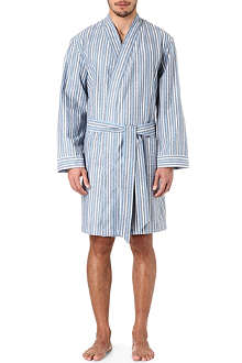 NATURALLY Port stripe dressing gown