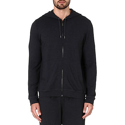 DEREK ROSE Basel jersey hoody (Anthracite