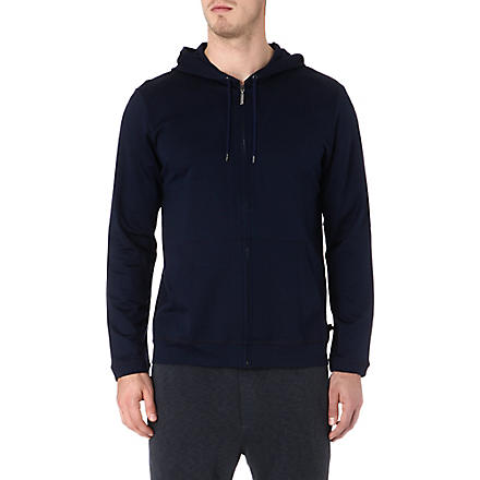 NATURALLY Leisure jersey hoodie (Denim