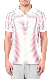 NATURALLY Stripe polo shirt