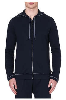 DEREK ROSE Barny leisure zip hoody