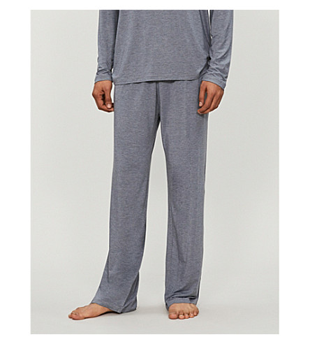 DEREK ROSE Marlowe trousers (Charcoal
