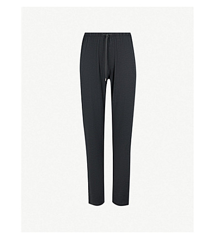 DEREK ROSE Marlowe stretch-jersey pyjama bottoms (Anthracite