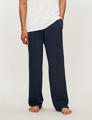 DEREK ROSE Basel casual trousers