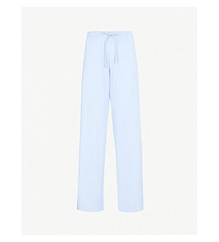 DEREK ROSE 巴塞尔休闲裤子 (法语 + 蓝色