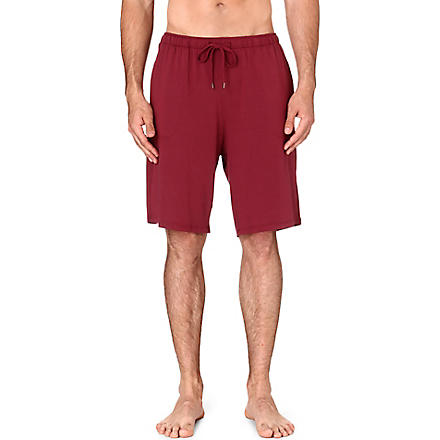 DEREK ROSE Basel jersey shorts (Burgundy