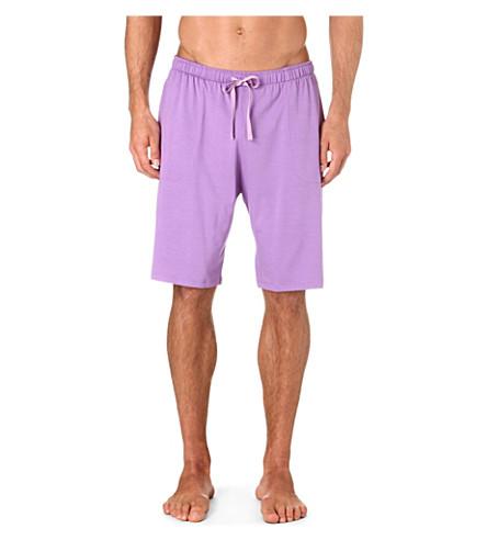DEREK ROSE Basel jersey shorts (Lilac