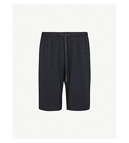 DEREK ROSE Marlowe stretch-jersey shorts (Anthracite