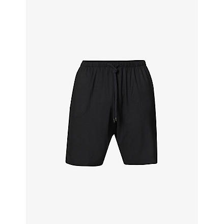 DEREK ROSE Basel jersey shorts (Black