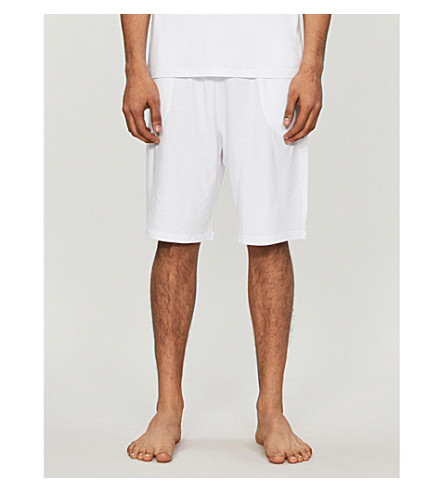 DEREK ROSE Basel jersey shorts (White