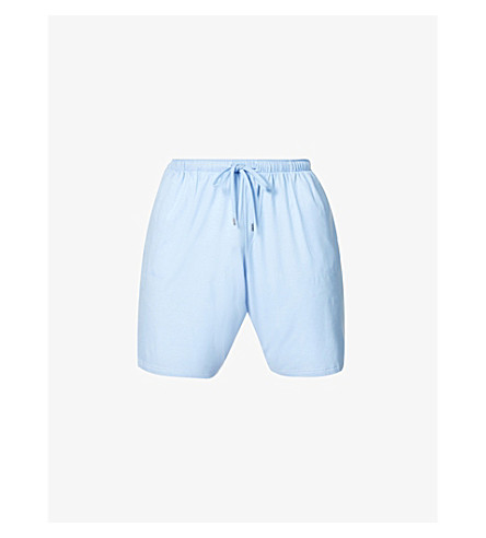 DEREK ROSE Basel shorts (French+blue