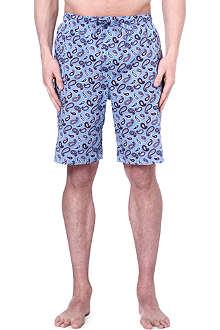 DEREK ROSE Nelson paisley loungewear shorts