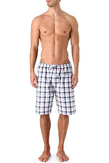 NATURALLY Portofino multi-check shorts