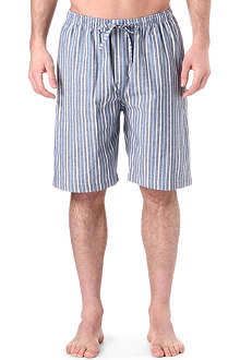 NATURALLY Cotton striped shorts