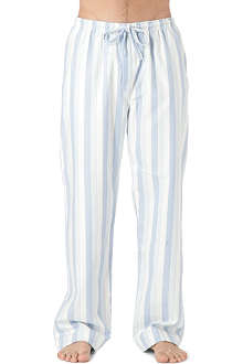 NATURALLY Arctic striped pyjama bottoms