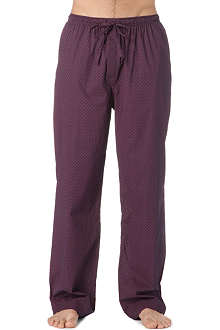 NATURALLY Arlo cotton pyjama trousers