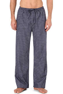 DEREK ROSE Braemar checked lounge trousers