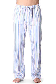 NATURALLY Multi-striped pyjama bottoms