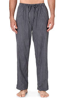 DEREK ROSE Ezra checked lounge trousers