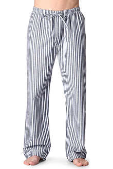 NATURALLY Striped pyjama bottoms