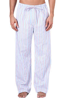NATURALLY Stowe striped pyjama bottoms