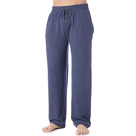 DEREK ROSE Finley cashmere trousers (Navy