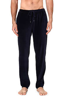 DEREK ROSE Nico velour trousers