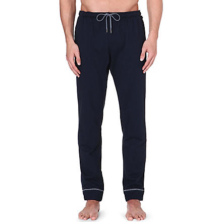 DEREK ROSE Barny leisure trousers (Navy