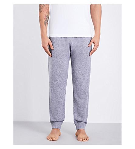 DEREK ROSE Finley cashmere pyjama bottoms (Silver