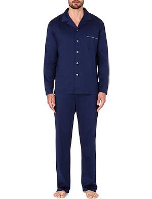 DEREK ROSE Bari cotton jersey pyjama set