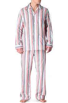 DEREK ROSE Striped pyjama set