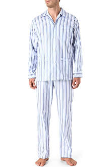 DEREK ROSE Multi-stripe pyjamas