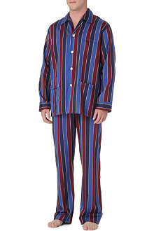 DEREK ROSE Elite stripe pyjamas