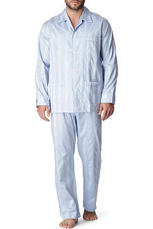 DEREK ROSE Lingfield striped pyjamas