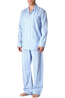 DEREK ROSE Bold stripe pyjama set