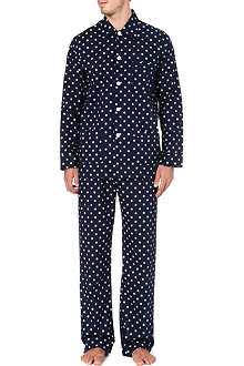 DEREK ROSE Nautical print pyjamas