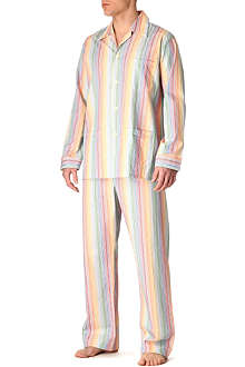 DEREK ROSE Loud striped pyjamas