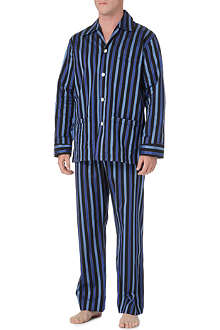 DEREK ROSE Royal stripe pyjamas