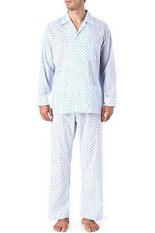DEREK ROSE Logo dot pyjamas